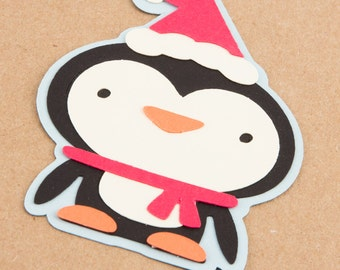 Christmas card - Penguin - Blank cards