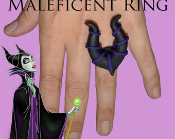 Maleficent Horn Ring