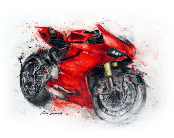 Ducati Panigale 1199 and 1299