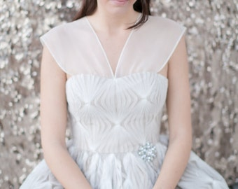 Penelope Tea-Length Gown