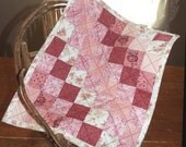 Rosebud Barbie Doll Quilt