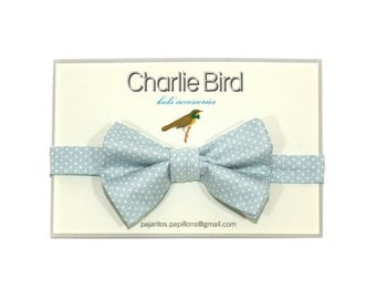 Bow tie Charlie Bird for Kids in japanese cotton