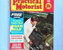 "Vintage June 1962 ""Practical Motoring"" monthly car magazine"