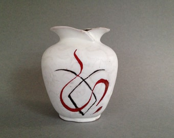 Carstens Tönnieshof  482 - 13,  decor :  Ankona,  rare design, Mid Century Modern made in the 1950s in West Germany.