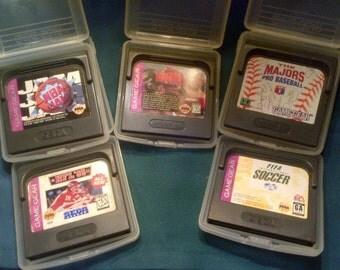 Sega© Game Gear Games