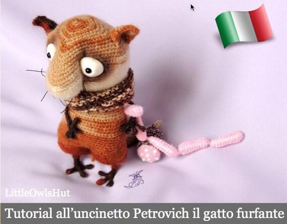 089IT Tutorial all uncinetto Petrovich il gatto furfante ...