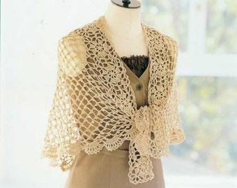 Crochet patterns - crochet shawl - crochet tunic - crochet clothes - japanese crochet - japanese craft book - ebook - PDF - Instant download