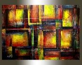 Modern Art Abstract Paint...