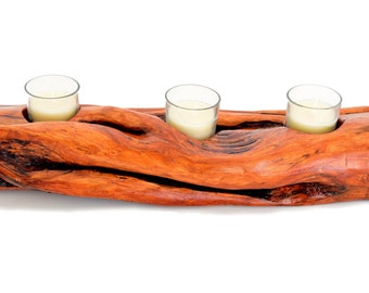 Alaskan Diamond Willow Candle Holder