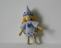 light blue girl pixie bendy doll