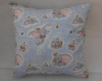 "Dumbo the Elephant Nursery Cushion Cover 40cm x 40cm (16""x 16"")"