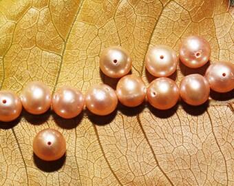 Loose Salt Water Pink Pearls // Pink Pearls// 12/24/60 Pink Pearls//Jewelry Supply