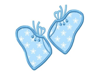 Baby Booties Applique Machine Embroidery DESIGN NO. 307