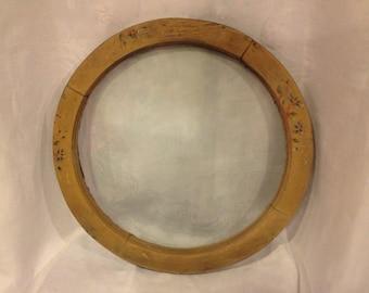 Vintage round window