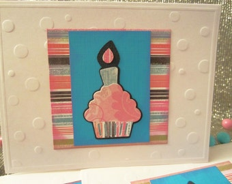 Cupcake Blank Note Cards