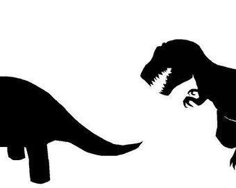 dinosaurs vinyl decal/sticker