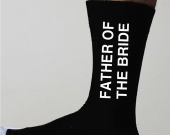 father of the bride Socks ,wedding father,wedding father of the bride gift,wedding father of gift,groom gift,groomsmen,bestman gift,socks
