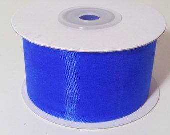 Sheer Organza Ribbon - Royal Blue - 25 Yards