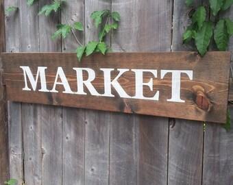 Rustic Market Sign