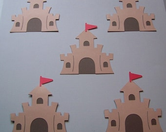 Sandcastle die cuts