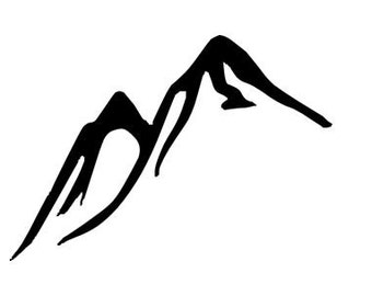 Mountains - Temporary tattoo