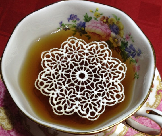 how to make sugar doilies for tea