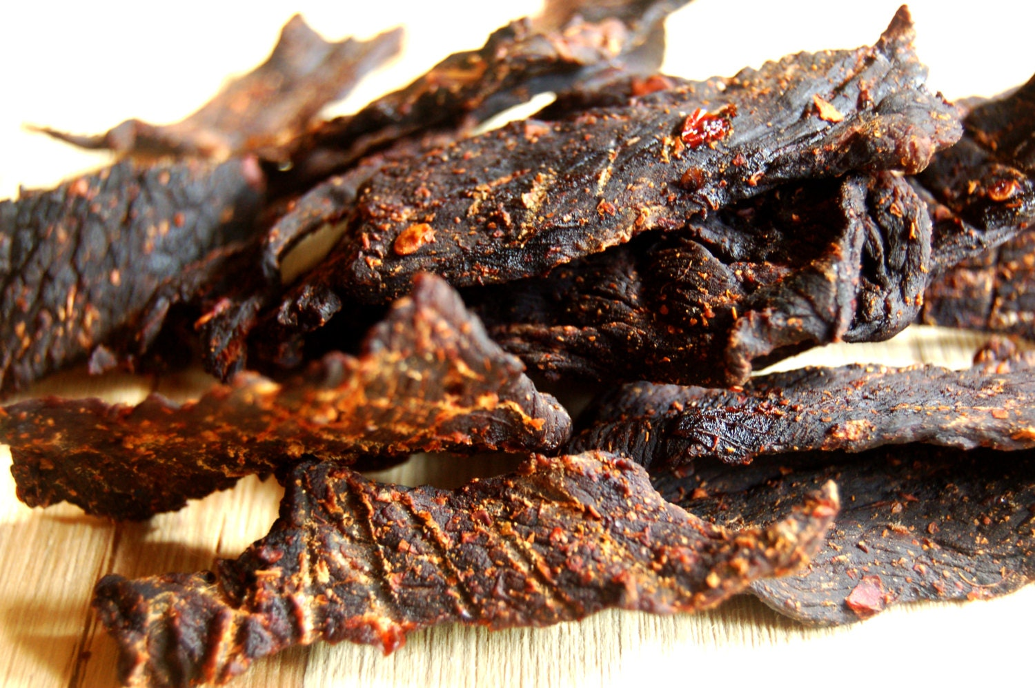 Chipotle Beef Jerky HOT Homemade Gourmet Hand Carved