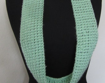 Cowl, Ladies hand made using a Tunisian Mesh crochet stitch, an attractive accessory for any life style.