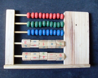 abacus-for reckon with the abacus-educational game for children-