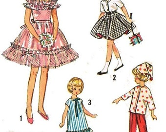 9 in. Pepper Doll Wardrobe Pattern