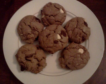 Homemade Triple Chocolate Chip Cookies!