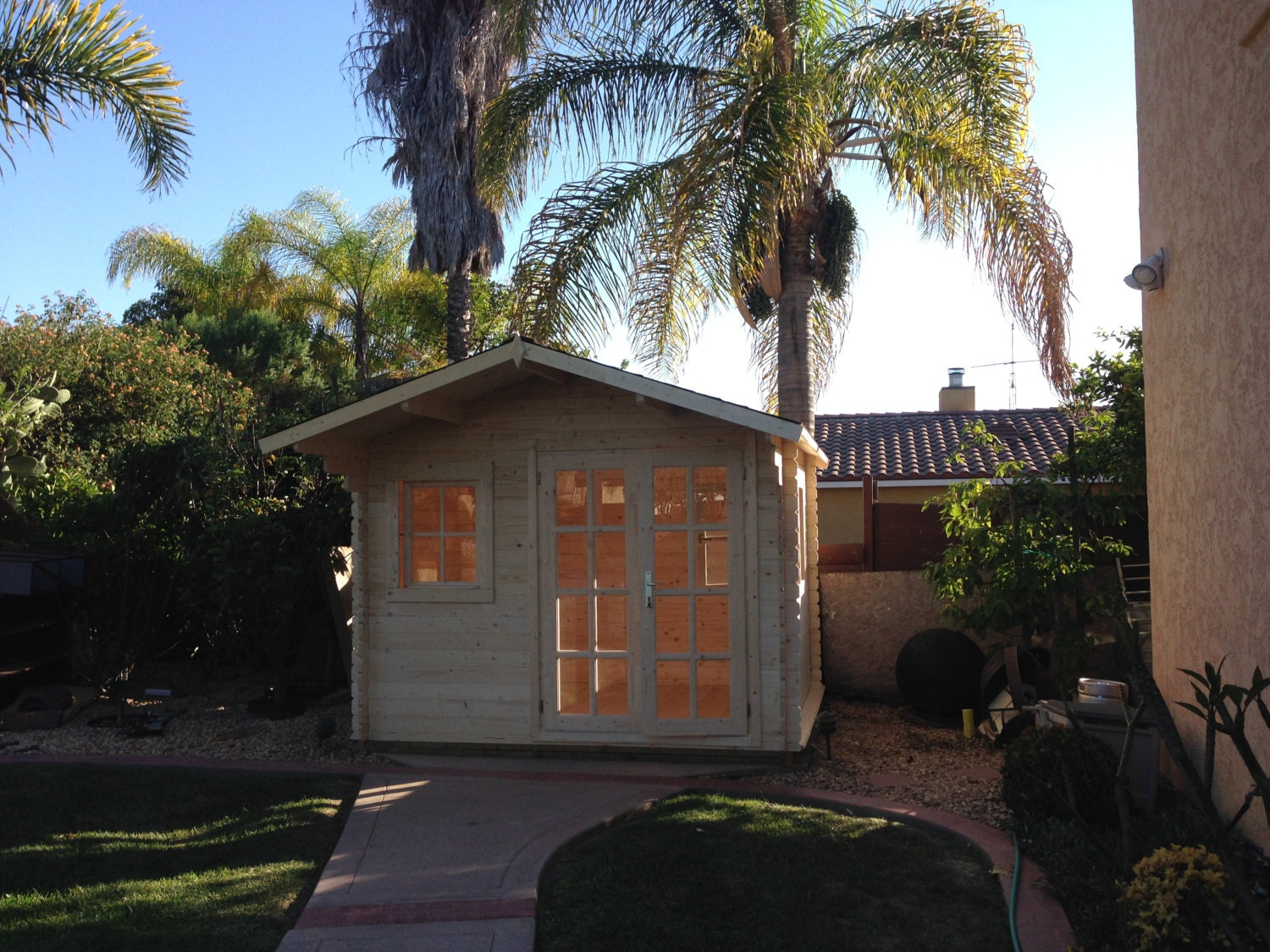 pre made guest house storage shed office space pool house