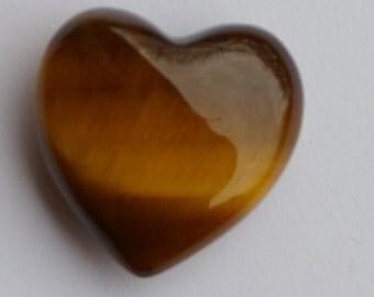 Tigers Eye Heart Gemstone