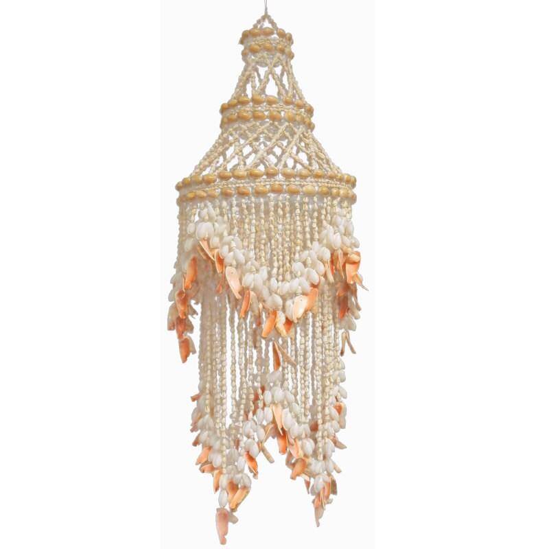 seashell chandelier light pendant
