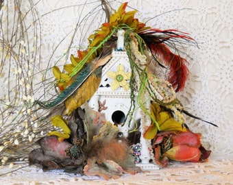 Fairy House, Cottage, Garden, Fairy Door, Miniatures, Fantasy, Mythical, Elves, Gnomes, Hobbits, Fairies, Faeries, Fae, Mother's Day Gifts