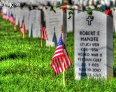 Memorial Day Photography, Arlington Cemetery Section 60