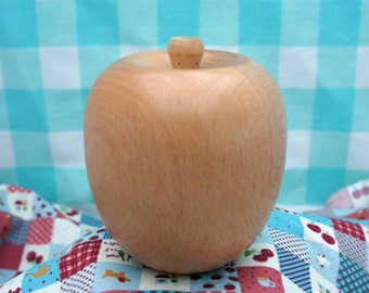 Solid Wooden Apple