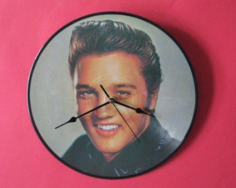 "Elvis poor boy 12""/lp  picture disc clock"