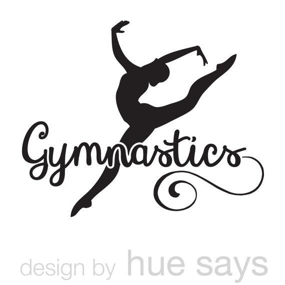 Window Sticker Car Decal Gymnastics Gymnast