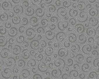Quilting Treasures White 'Quilting Illusions' Curly Cue 186