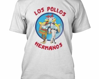 Los Pollos Hermanos T-shirt Breaking Bad Heisenberg Fan shirts S-3XL