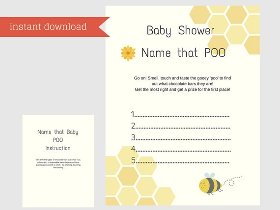 new baby shower games name that poop new baby shower. Black Bedroom Furniture Sets. Home Design Ideas
