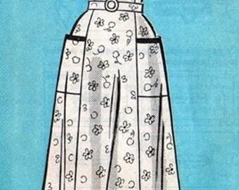 Marian Martin 9230 Sunny Delight Dress 1950's / SZ14.5 FACTORY FOLDS