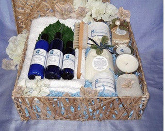 Hang In There... Spa Gift Basket