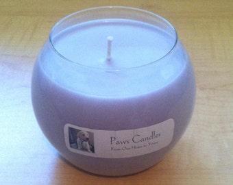 18oz Bulb Lavender candle.