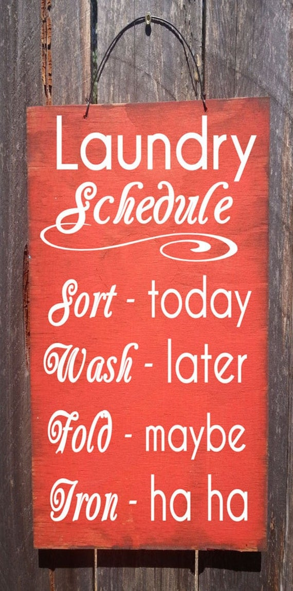 Laundry Room Sign, Laundry Room Schedule, Laundry Sign, laundry room