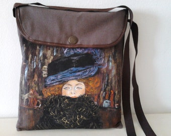 "Bag ""Klimt"", tablet, ipad case,ipad air, shoulder bag"