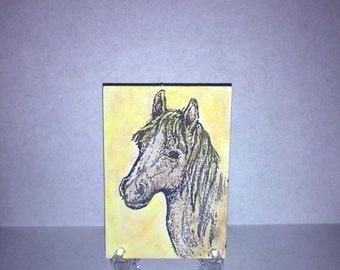 ACEO Art Card-Horse