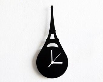 Eiffel Tower Paris France  - Wall Clock