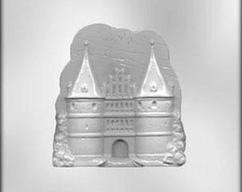 Large Castle Chocolate Candy Mold Disney Princess Soap plaster